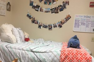 Student dorm room