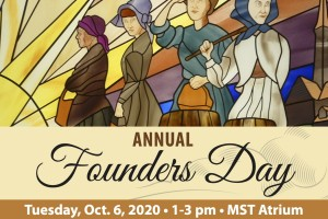 Informational flyer about Founders Day