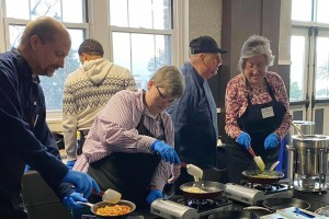 Chef for a day: Mount alumni enjoy cooking class