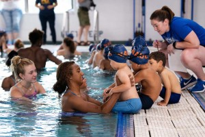 Earning their water wings: Mount alumni kick off Newburgh Armory swimming program