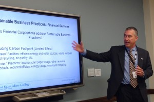 Thomas S. Fitzmaurice, assistant Professor of Business at Mount Saint Mary College.