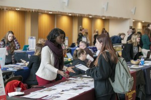 Graduate programs on display at the Mount