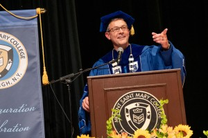 Mount inaugurates Dr. Jason N. Adsit, seventh president of the college