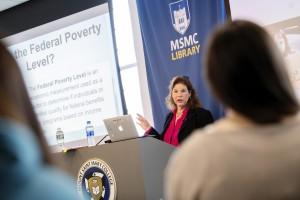 Sonya Abbye Taylor, associate professor of Education at MSMC