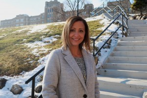 Tiffany Gagliano '02 was appointed the Dean of the School of Business