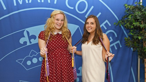 Students with honor cords