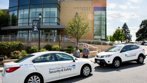Mount Security Guards on Campus