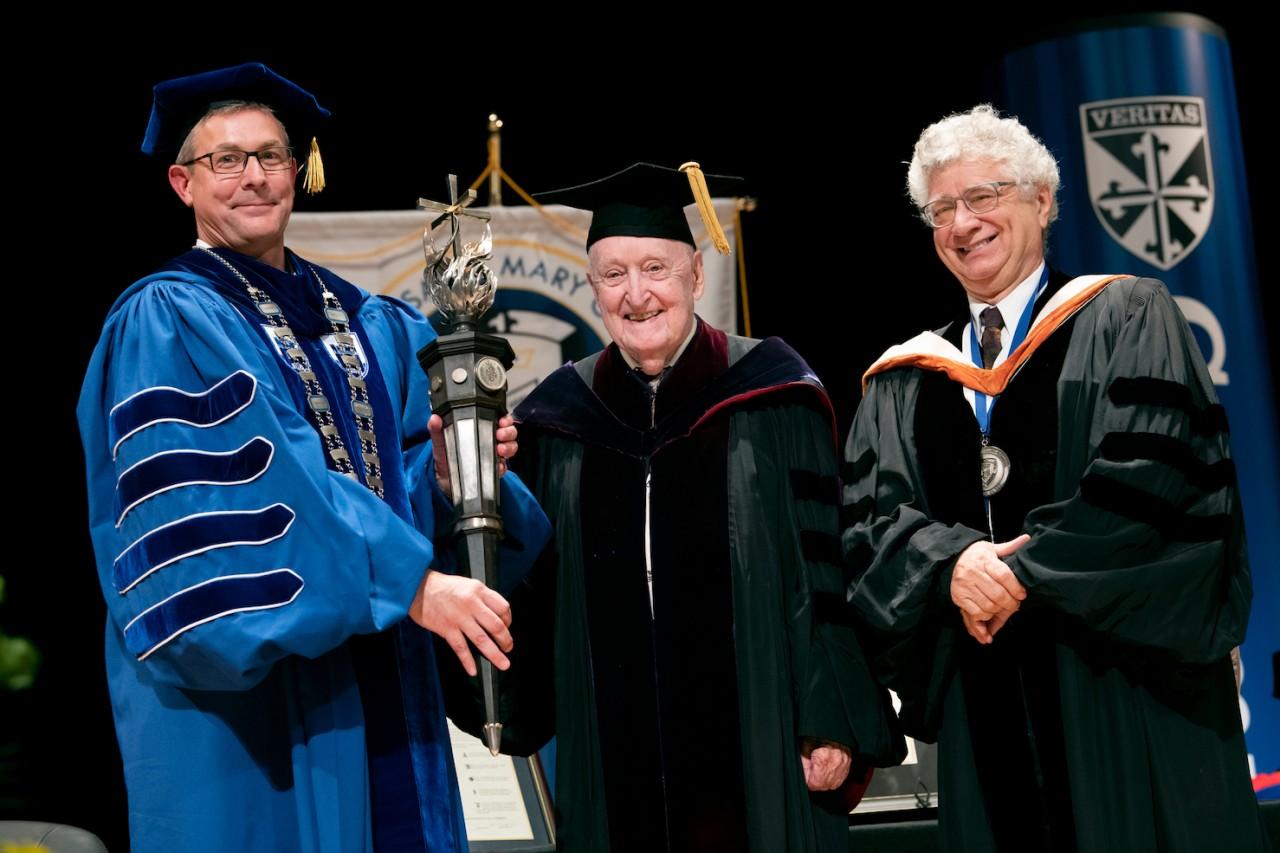 James Finn Cotter, Dr. Adsit and Dr. David Kennett