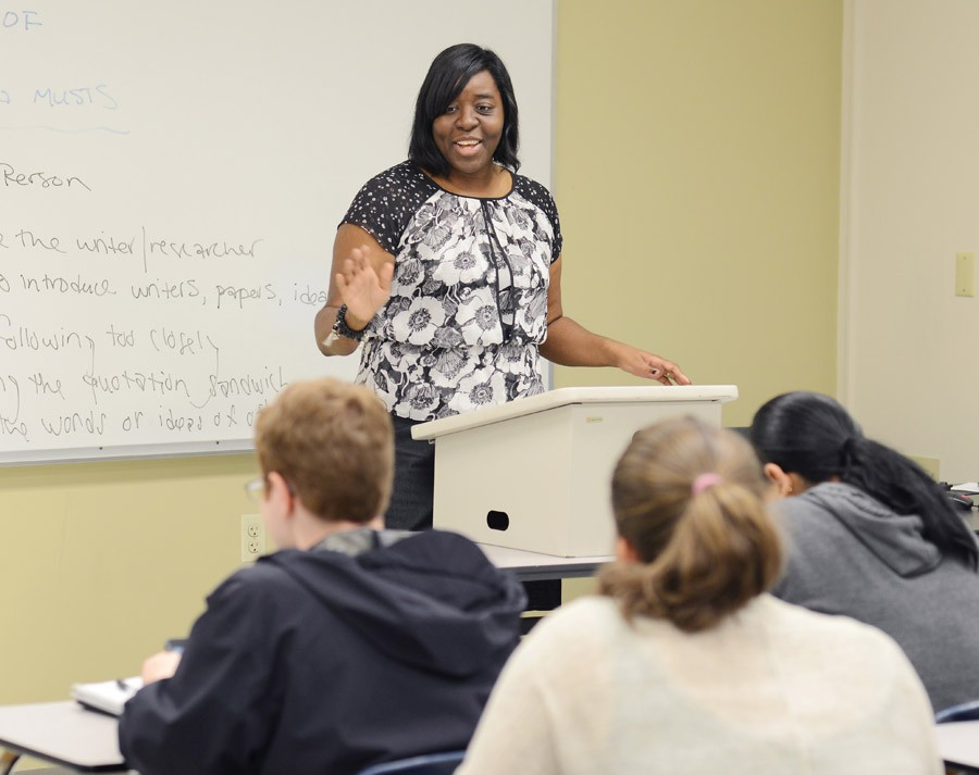Jenifer Lee-Gonyea, associate professor of criminology 2016