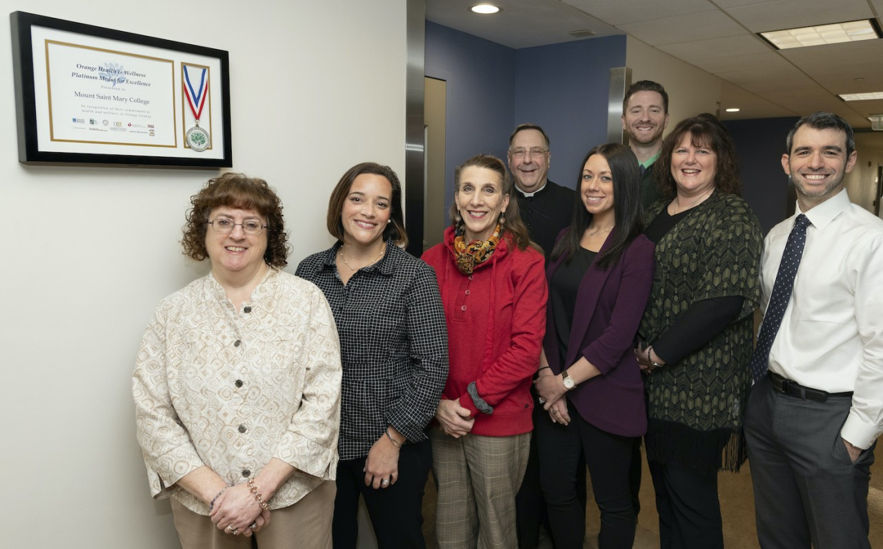 Mount Saint Mary College's Employee Wellness Committee