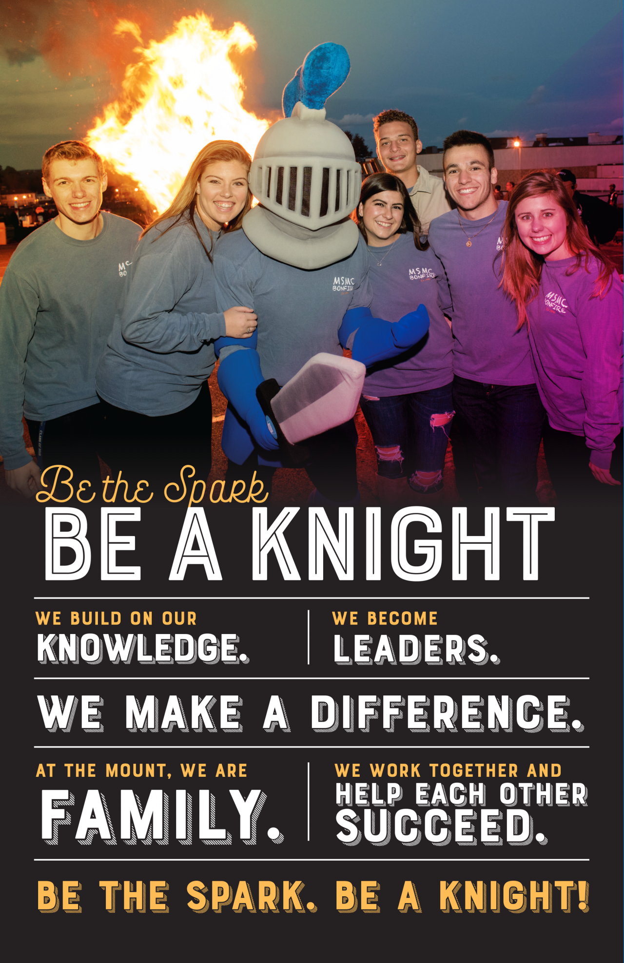 Be the Spark. Be a Knight.