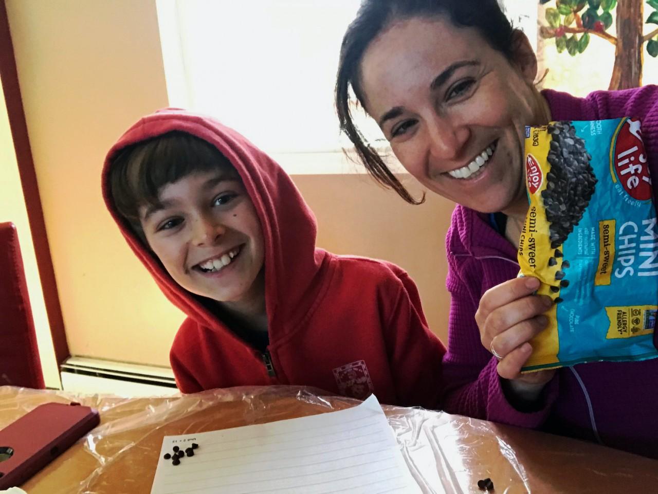Yasmine Kalkstein and Son