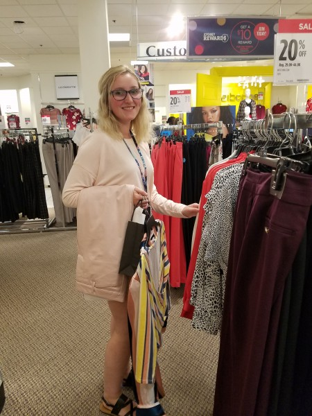 Mount students suit up at JCPenney