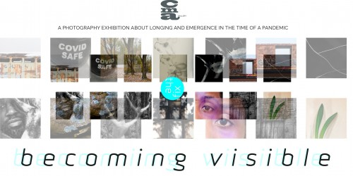 """""""Becoming Visible event poster"""""""