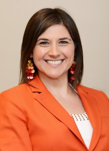 Headshot of Gina Evers, director of the Writing Center
