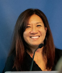 Headshot of Marie-Therese Sulit, associate professor of English and director of the Mount's Honors Program